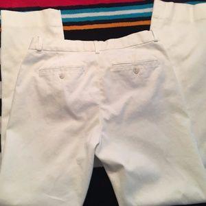 Blue Label Ralph Lauren White Casual Pants
